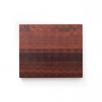 Dieses Hirnholz Schneidebrett aus Mahagoni hat die Maße 30,5 x 25 cm und die Stärke von 2,5 cm
